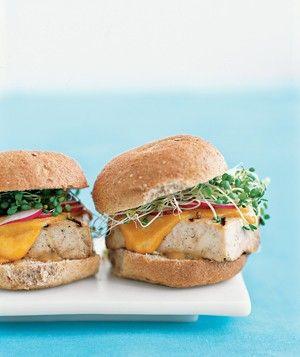 Tofu Burgers - if you love burgers but are vegetarian!