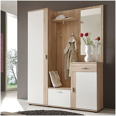 Schuhschrank Und Garderobe Neu Garderoben Set Zeppy Home Decor