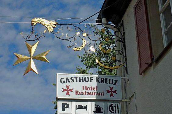 Heitersheim, Gasthof Kreuz, Juli 2012