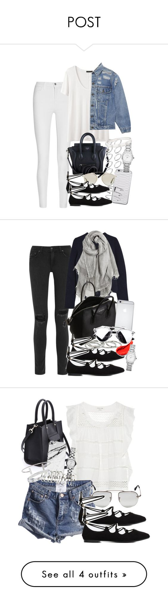 """""""POST"""" by mari-mmp ❤ liked on Polyvore"""
