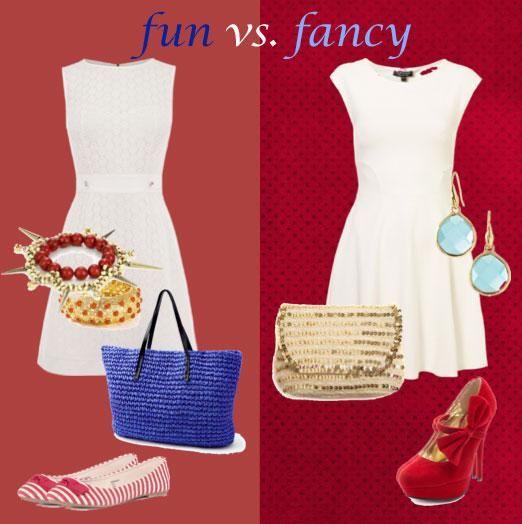 How to make a #LWD fun vs. fancy on ElleandBlair.com!