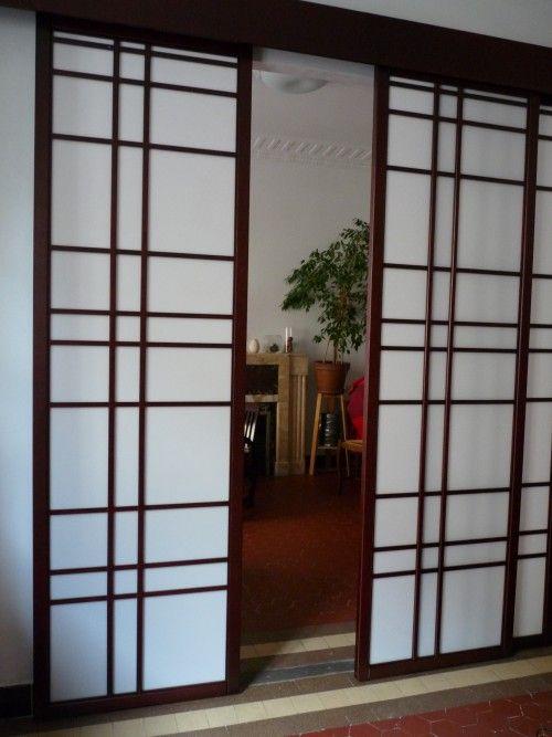 Cloison coulissante sur mesure votre go t cloison japonaise coulissante e - Cloison coulissante sur mesure ...