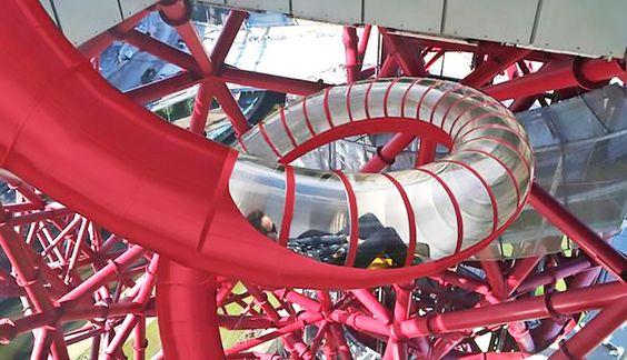 Dentro de poco, en Londres, podrás subir al tobogán mas grande del mundo