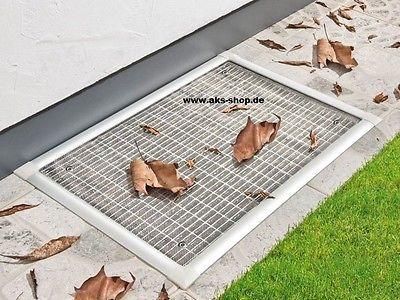Powerfix Lichtschacht Kellerschacht Gitterrost - Abdeckung 115 x 50 cm 2 • EUR 29,00