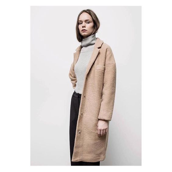 J A C K S O N  C O A T // #justfemale #outerwear #camel #autumn15 #woolcoat picture by @needsupply