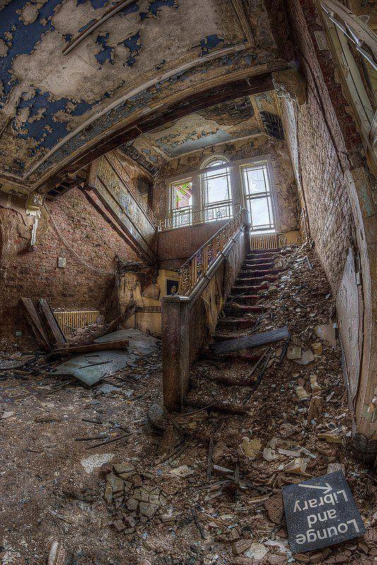 Asylum Abandoned And Lounges On Pinterest