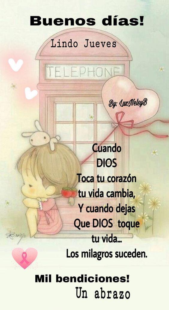 Descargar Imagenes Con Frases Buenos Dias Feliz Jueves Para Todos Birthday Quotes Spanish Quotes Good Morning Quotes