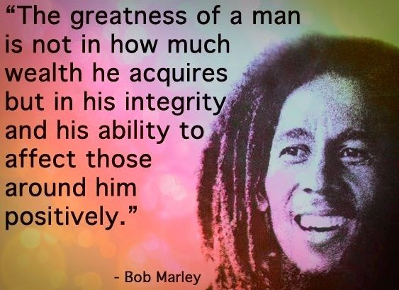 bob marley leadership Some interesting little-known facts about bob marley.