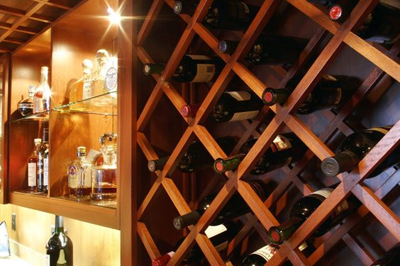 Wine Cellar Closeup