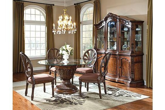 The Ledelle Dining Room Table from Ashley Furniture HomeStore (AFHS