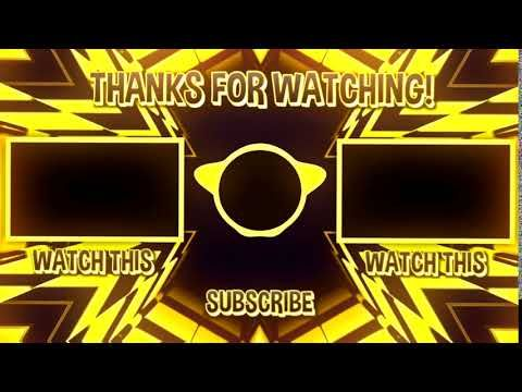 Free Outro Template No Text 12 Free To Use Youtube Youtube Songs Youtube Logo Magic Bullet