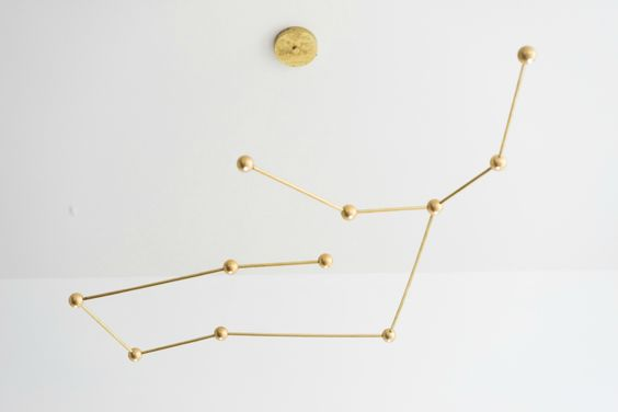 These dazzling zodiac lamps let you bring the heavens indoors