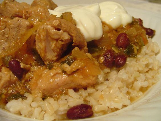pork and tomatillo stew by Elly Says Opa, via Flickr