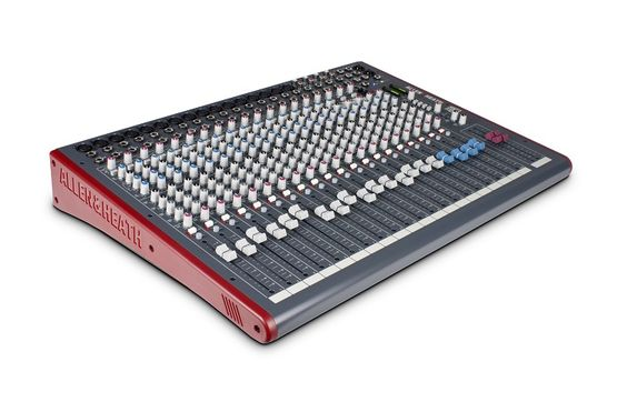 Allen and Heath 24 channel mixer, specifically the ZED 24, is one of the best value for the money choices on the market at the moment.
