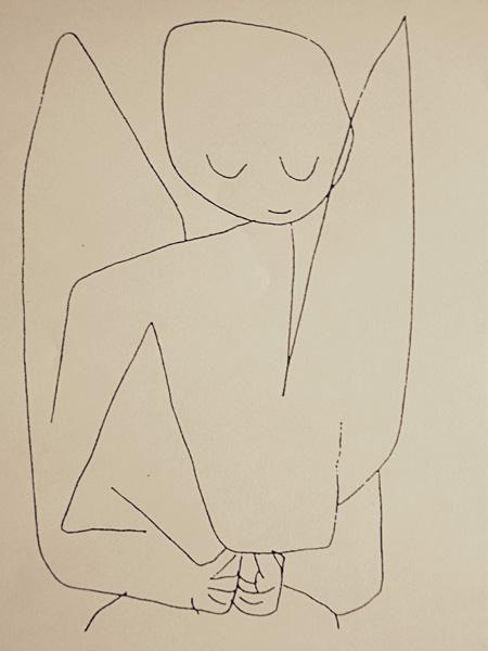 Paul Klee - Forgetful Angel (Vergesslicher Engel)