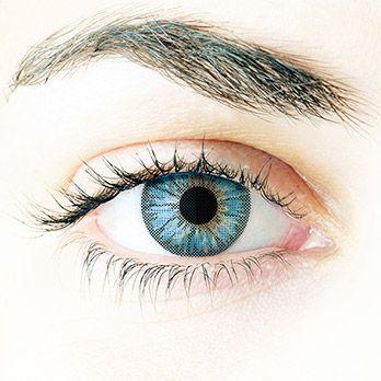Images Dailies - farbige Kontaktlinsen mit Sehstärke Blue #contacts