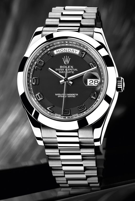 Rolex Day-Date. When I finish med school I'm buying this for my dad.