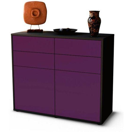 Sideboard Celia Front In Lila 92x79x35cm Bxhxt In 2020 Sideboard Beistelltische Set Wohnzimmer Sideboard