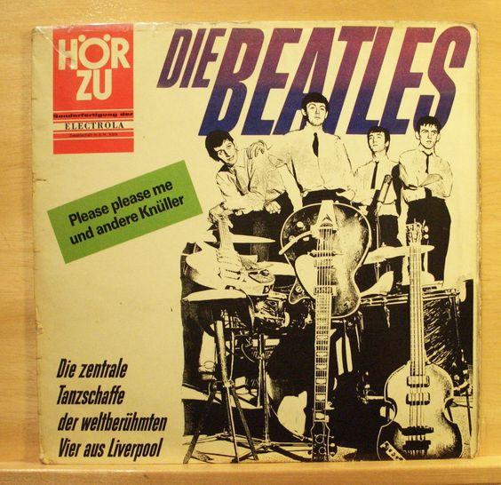 THE BEATLES - Die zentrale Tanzschaffe - Vinyl LP - Original Hör Zu - Love me do