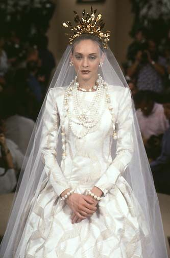 YSL Haute Couture Fall 1997