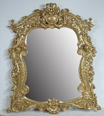 Gold + Mirror = I look FAB