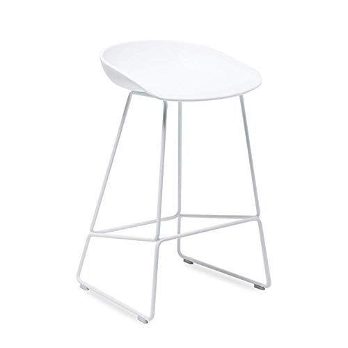 Modern Wrought Iron Bar Stool Bar Chair Sleek Minimalist Cafe Bar