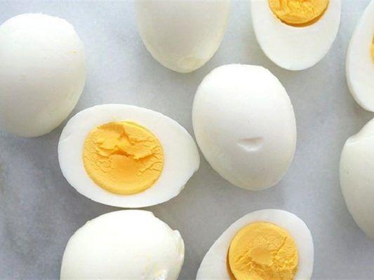 السعرات الحرارية في البيضة المسلوقة Food Breakfast Eggs