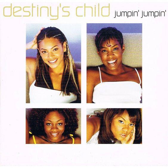 Destiny's Child – Jumpin', Jumpin' (single cover art)