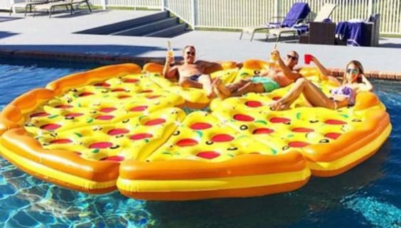 We've Seen Food Pool Floats Before But This One Takes The Cake  - Delish.com