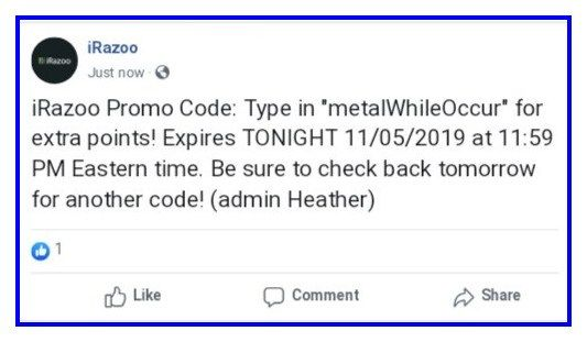 Please Use Invite Code B7d3ds To Join Irazoo Thankyou Irazoo New Treasurecode Please Enter Metalwhileoccur At App Ir Promo Codes Coding Tomorrow For Sure