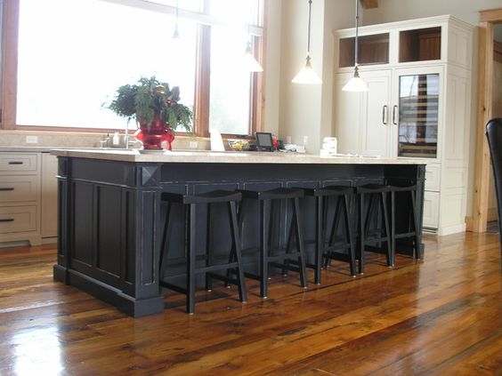 Pinterest the world s catalog of ideas - Kitchen island designs with seating for 6 ...
