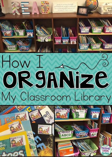 Check out these tips on how I organize my classroom library.