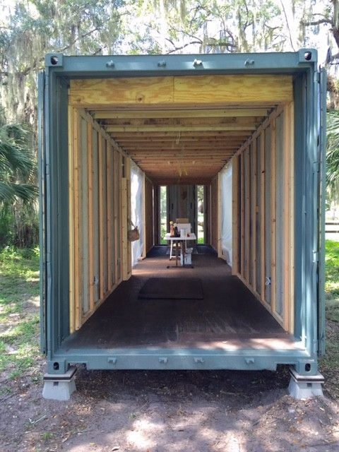 How I Built My Shipping Container House The Hab With Images Shipping Container Container House Tiny Container House