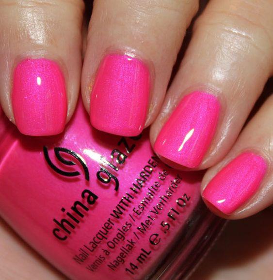 China Glaze Hang-Ten Toes: Toes Color, China Glaze, Nail Colors, Lacquers Chinaglaze, Hair Nails, Nail Lacquer