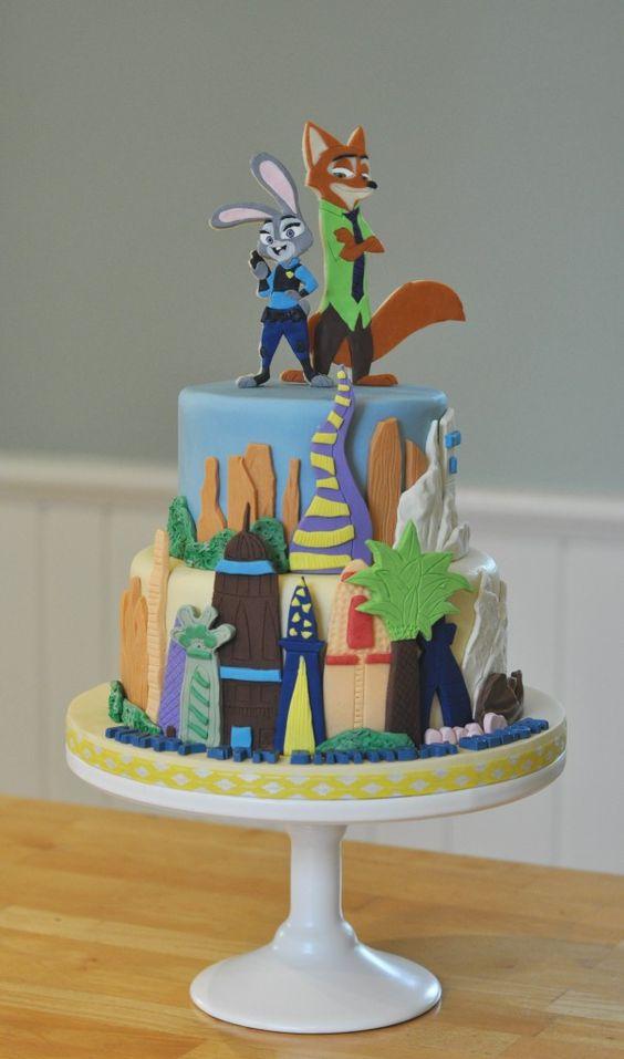 Zootopia Cake: