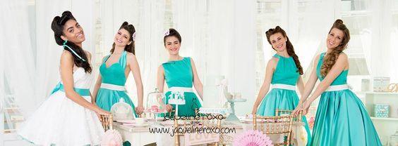 Mint,Tule, Bridesmade, vintage
