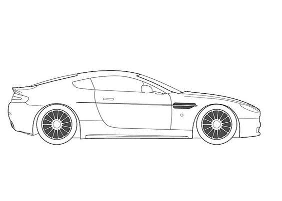 Dibujos Para Colorear De Coches Audi R8 Ideas Creativas