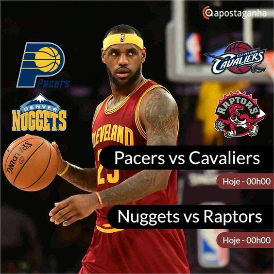 Como de costume, fechamos o dia desportivo com o Basket da NBA... Confere...  http://www.apostaganha.com/2016/02/01/prognostico-apostas-nuggets-vs-raptors-nba-1/  http://www.apostaganha.com/2016/02/01/prognostico-apostas-pacers-vs-cavaliers-nba-09/  http://www.apostaganha.com/2016/02/01/prognostico-apostas-pacers-vs-cavaliers-nba-4/  Quer 100 euros de bonus, streams dos maiores eventos e uma casa com milhares de opções? Conheça a 1xBet!  http://bit.ly/Promo-100eurosBonus-1xBet  #apostas…