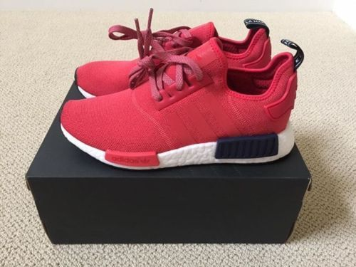 Adidas Cheap Womens Red Adidas Nmd Runner R1 W Cherry Red S76013