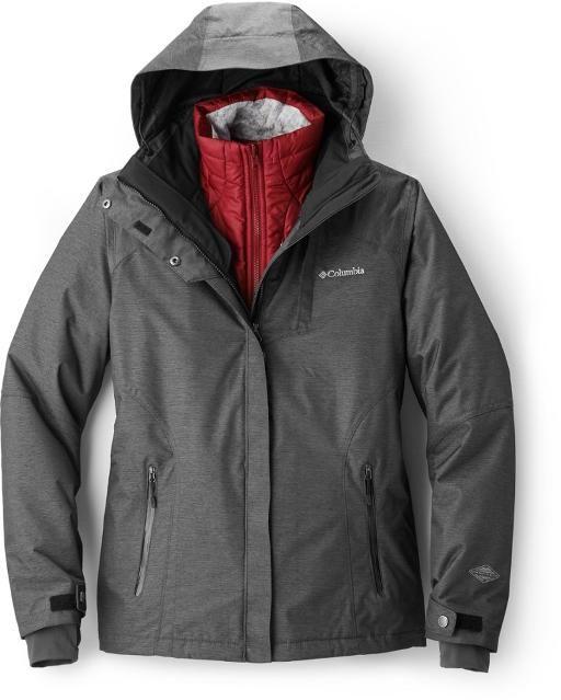 Columbia Alpine Alliance Ii Interchange 3 In 1 Jacket Women S Womens Snowboard Jacket Jackets For Women Insulated Jacket Women