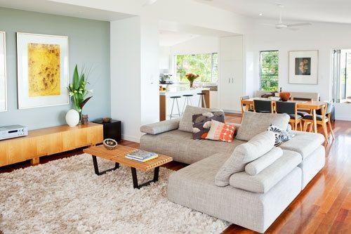 L Shaped Sofa Open Plan Kitchen Living Room Dining Room Layout Open Plan Living Room