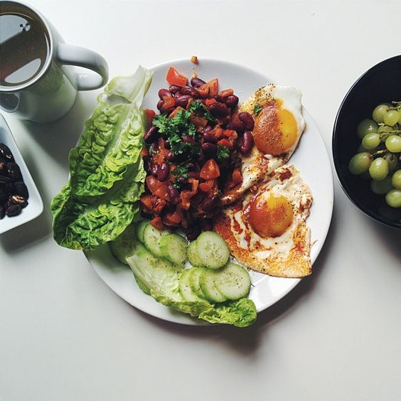 """Can you feel the energy for the whole day?  Personally don't know about any better starter than my usual eggs with vegetables and some healthy…"""