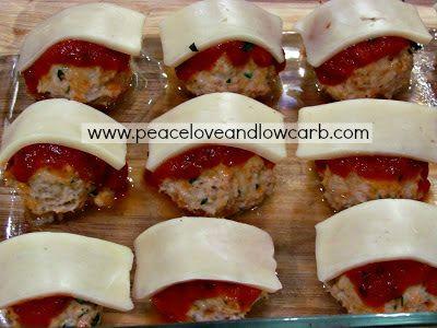 chicken parmesan meatball recipe pinterest