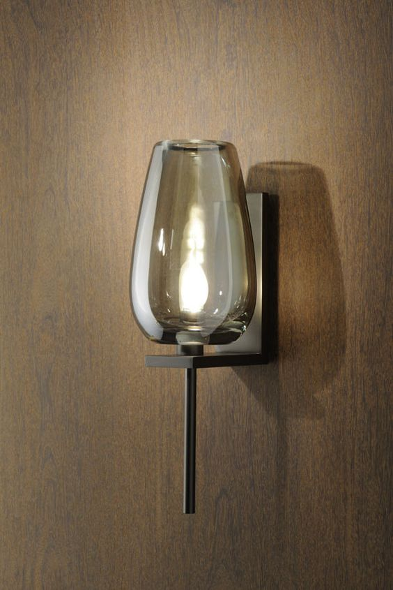 Switched Wall Lights For Bedroom : Glasses, Contemporary wall lights and Wall lights on Pinterest