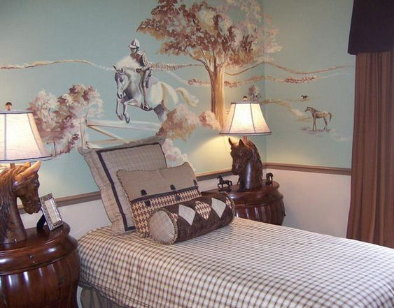 themed bedrooms for horse crazy girls of all ages horse nation