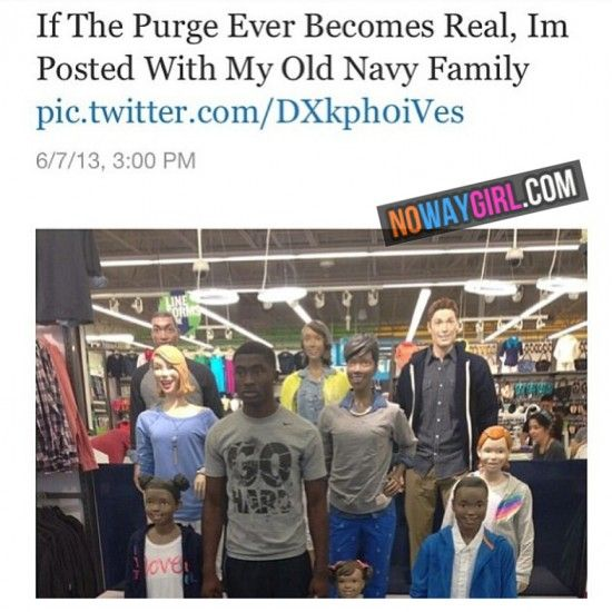 If The Purge Was Real Funny Tweet