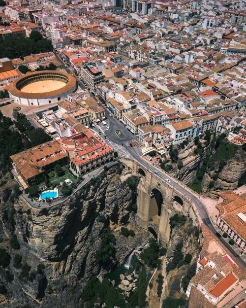 Roda Spain Aerial Photo Spain Scenery
