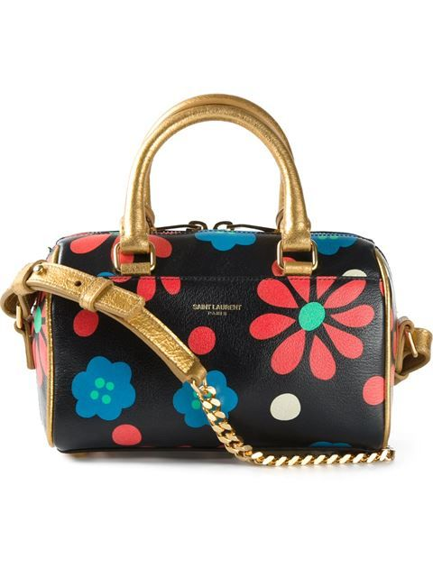 """Comprar Saint Laurent bolso tote """"Duffle 6"""" en Vitkac from the world's best independent boutiques at farfetch.com. Shop 300 boutiques at one address."""
