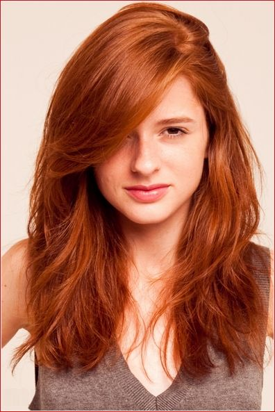 Natural Red Hair Color Easy Haircuts On Home Gallery Hair Ideas