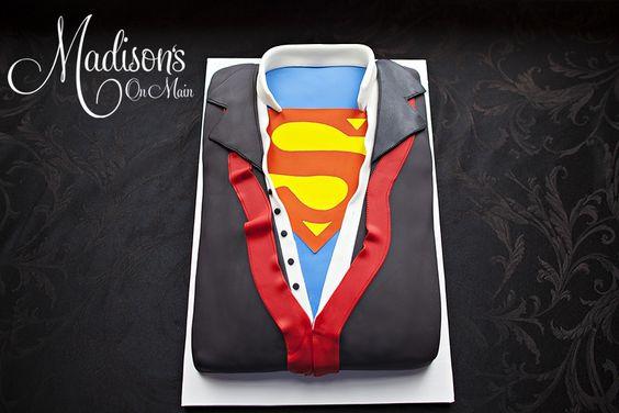 Superman Grooms And Groom Cake On Pinterest